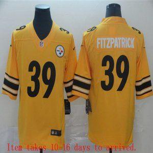 Steelers #39 Minkah Fitzpatrick Jersey Inverted